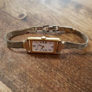 Classy vintage Seiko watch with antique band